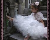 Flower girl AnthologyInc Boutique FAB princess portrait costume pageant tulle petticoat dress