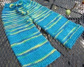 Longies Large BFL Wool with Goofy Stripes by Katidids