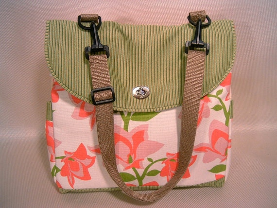 Expandable Tote Bag-PRETTY 'N PINK