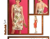 Sewing Pattern Butterick 4974 Halter Dress Size 14 to 20 Bust 36 to 42 Uncut Complete
