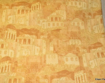 Judaic Fabric Fat Quarters Ancient City Sand Colors