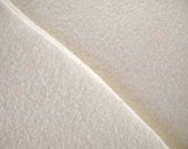 Wool Felt Material  12in. X 18in.  Pieces ...... White