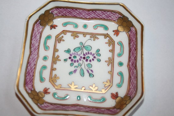 little french dish for your jewels for salt on the table for whatever 4 inch square