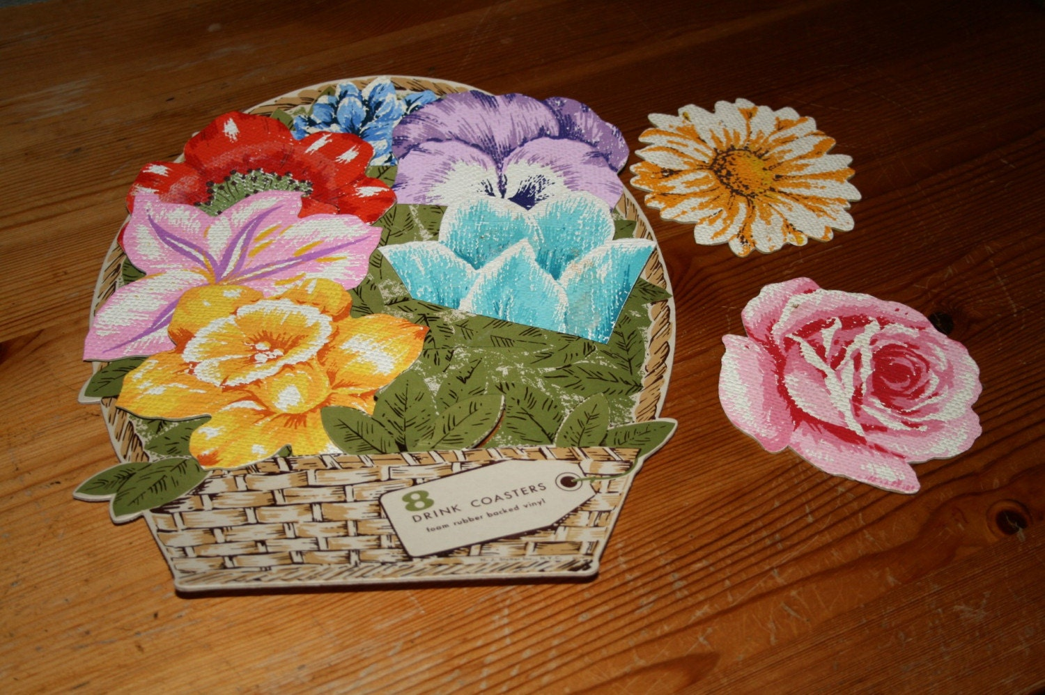 Vintage Floral Drink Coasters So Unusual And Cool