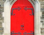 Cool Red Door