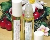 Fruity Rainbow Sherbet Perfume Oil Fragrance Scent Roll on Perfume - Vegan - Lemon Orange Raspberry Vanilla Cologne - Perfume Oil