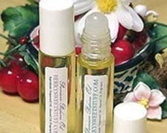 Lemon Creme Perfume Oil - Fragrance Scent Roll on Perfume - Vegan - Lemon Vanilla Cream Cologne - Lemon Scented Perfume Oil - Handmade
