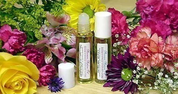 Purple Hyacinth Perfume Oil Fragrance Roll on Scent - Vegan - Handmade Spring Floral Cologne - Hyacinth Perfume Fragrance Scented Oil