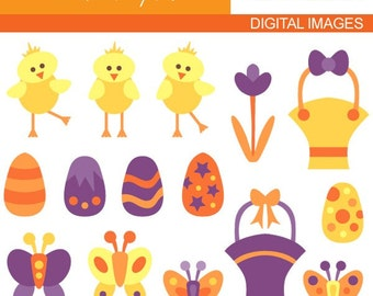 Easter clipart - Easter Day A 08044 - Digital Images - Cute clipart - Commercial use