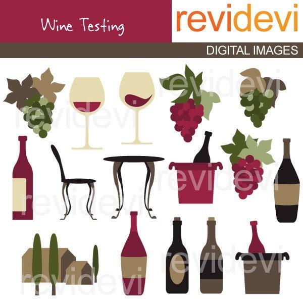 Wine Tasting Clipart / wine glassses clip art wine bottles