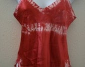 silk cami/top red-small SALE