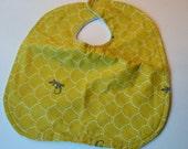 SALE Baby Bib, Echino print