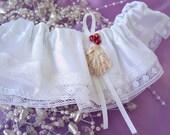 Simple Garter , Beach Themed Garters , Tropical Wedding , Prom Garter , Bridal Accessories , Wedding Garter , Lace Garter , Keepsake Garter