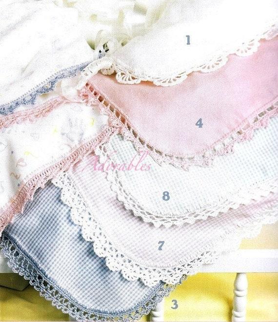 Receiving Blanket Crochet Baby Inspired Edgings