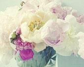 Peony Wall Decor,  Peony Print, Flower Still Life Photograph, Peony Art, Floral Art Print, Flower Photography