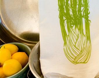 KTV3: Flour Sack Kitchen Towel - Fennel
