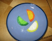 3 Citrus Slices   Felt food for toddler pretend play (SALE)