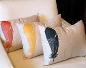 Feather Throw Pillow