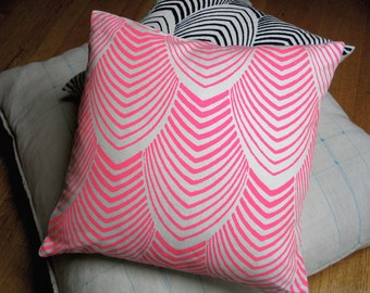 Neon Arches Pillow