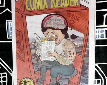Comix Reader 2 Full Color London Comics Newspaper