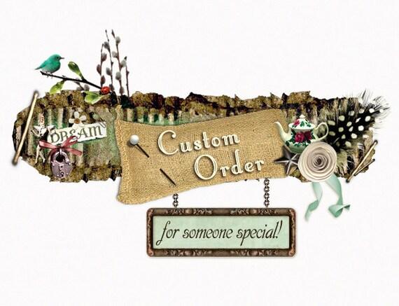 Custom Order For Krissy - 6 Medium Clutches