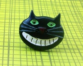 Cheshire Cat Adjustable Ring