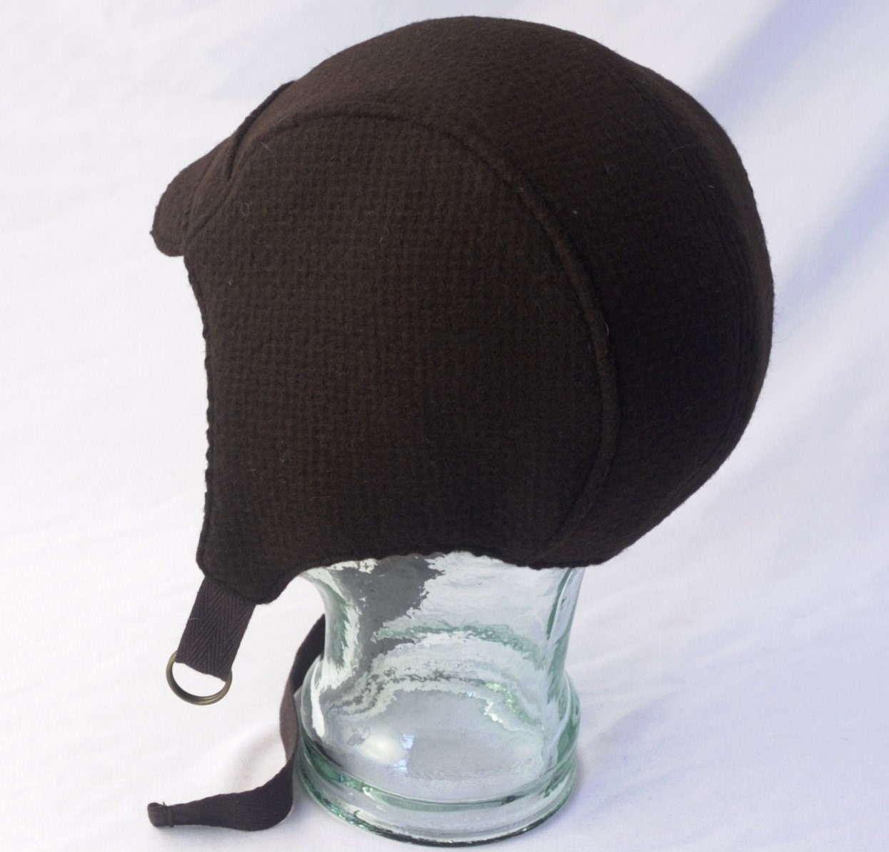 brown wool aviator hat womens mens hats by