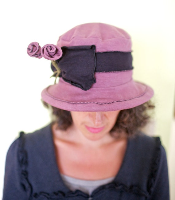 Organic Mary, Dusty Purple, Cotton and Hemp Jersey, Packable