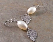 Sterling Silver Freshwater Pearl Earrings