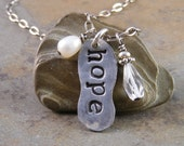 Hope Handcrafted Sterling Silver Necklace