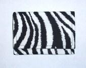 Mini wallet - Zebra