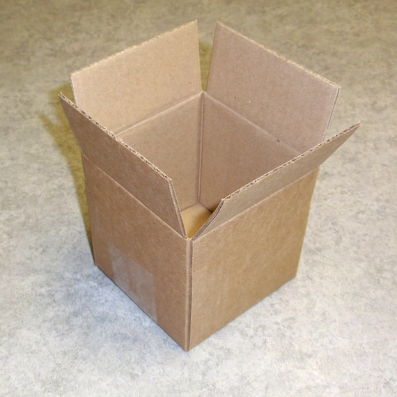 4 x 4 x 4 mailing boxes - shipping boxes - set of 5