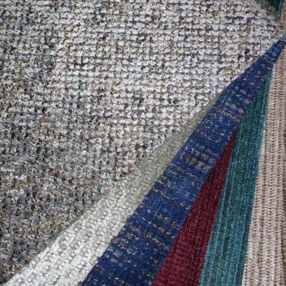 Destash fabric upholstery samples - large box full
