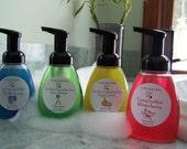 FOAMING QUARTET Four Foaming Hand Wash Fragrances for 24.
