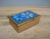 Sascha Brastoff Enamel on Ceramic Box