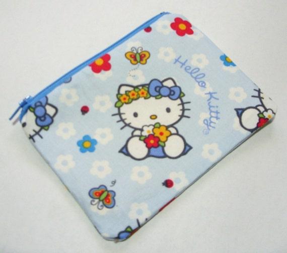 10% off sale   hello kitty zippy pouch