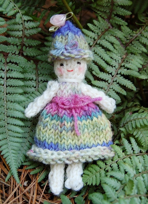 Hand Knit Doll ----- All Wool