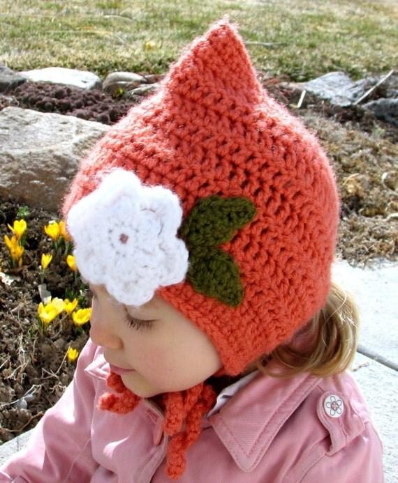Baby Bonnet Pattern - Digital File