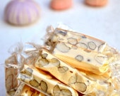 French Almond Nougat Candy - Soft - 4 oz ( 113 grams ) - featured in Saveur.com