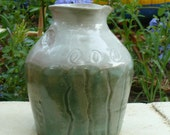 Green and White Carafe 2