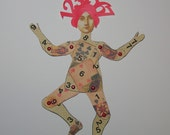Numerology Art Paper Doll
