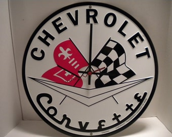 Chevrolet Corvette.....Clock