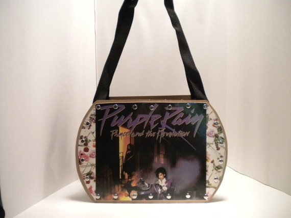 Prince Purple Rain Record Album Purse