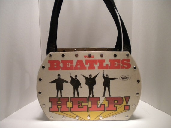 Beatles.......Help.......Record Album Purse
