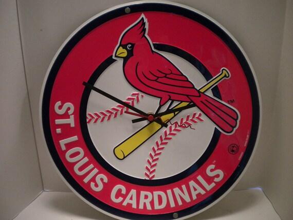St. Louis Cardinals Clock