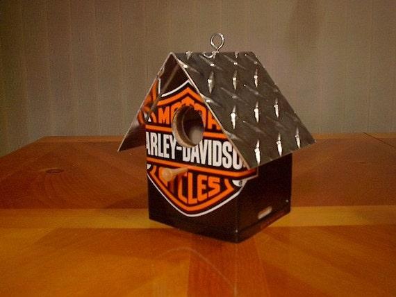 Harley Davidson......License Plate Birdhouse