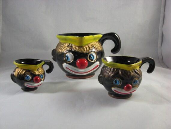 Black Americana Thames Clown Measuring Cups