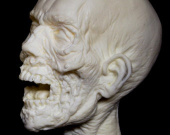 WALKING DEAD Head sculpture (Unpainted)