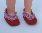 American Girl Shoes, Slippers, Red
