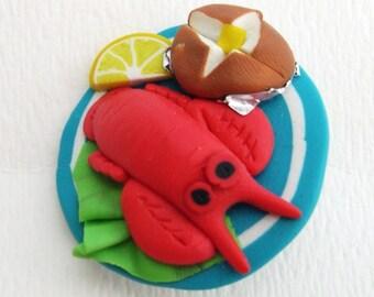 lobster dinner pin